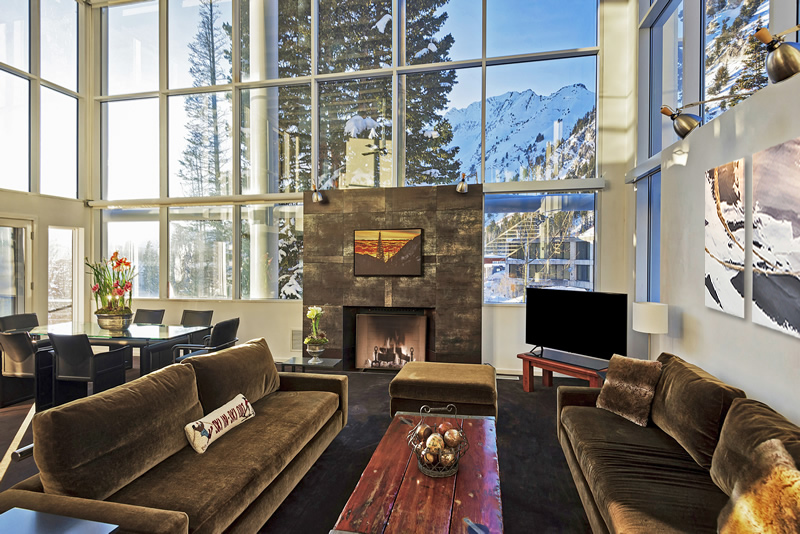 Alta's Rustler House | Luxury House Rental Perfectly Located between Snowbird and Alta, Utah